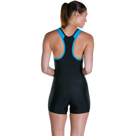 speedo Speedo Pro Legsuit Women Black/Winsdor Blue/White